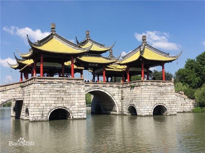 扬州瘦西湖风景区