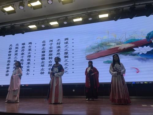 淮安工业中专举行第四届读书节诗歌朗诵比赛